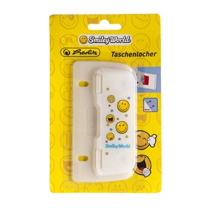 Perforateur smiley - Multicolore