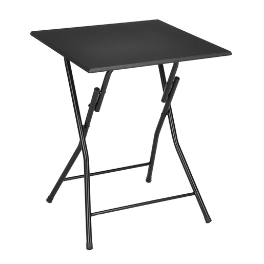 Table pliante - MDF - Métal - Noir - Meubles de salon | La Foir\'Fouille