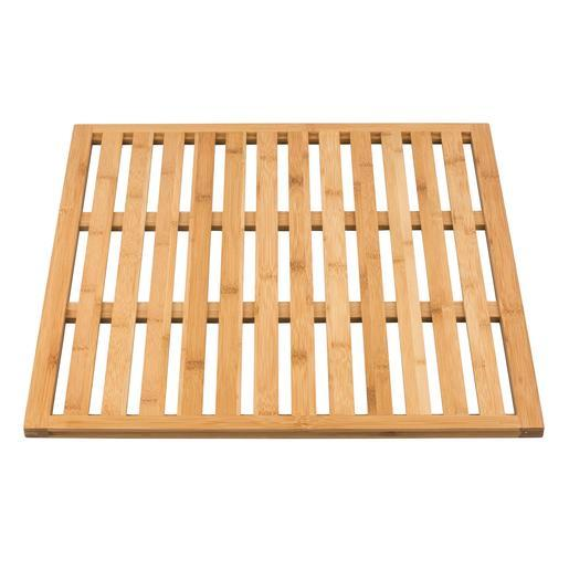 caillebotis bambou - accessoires salle de bain | la foir'fouille - Caillebotis Pour Salle De Bain