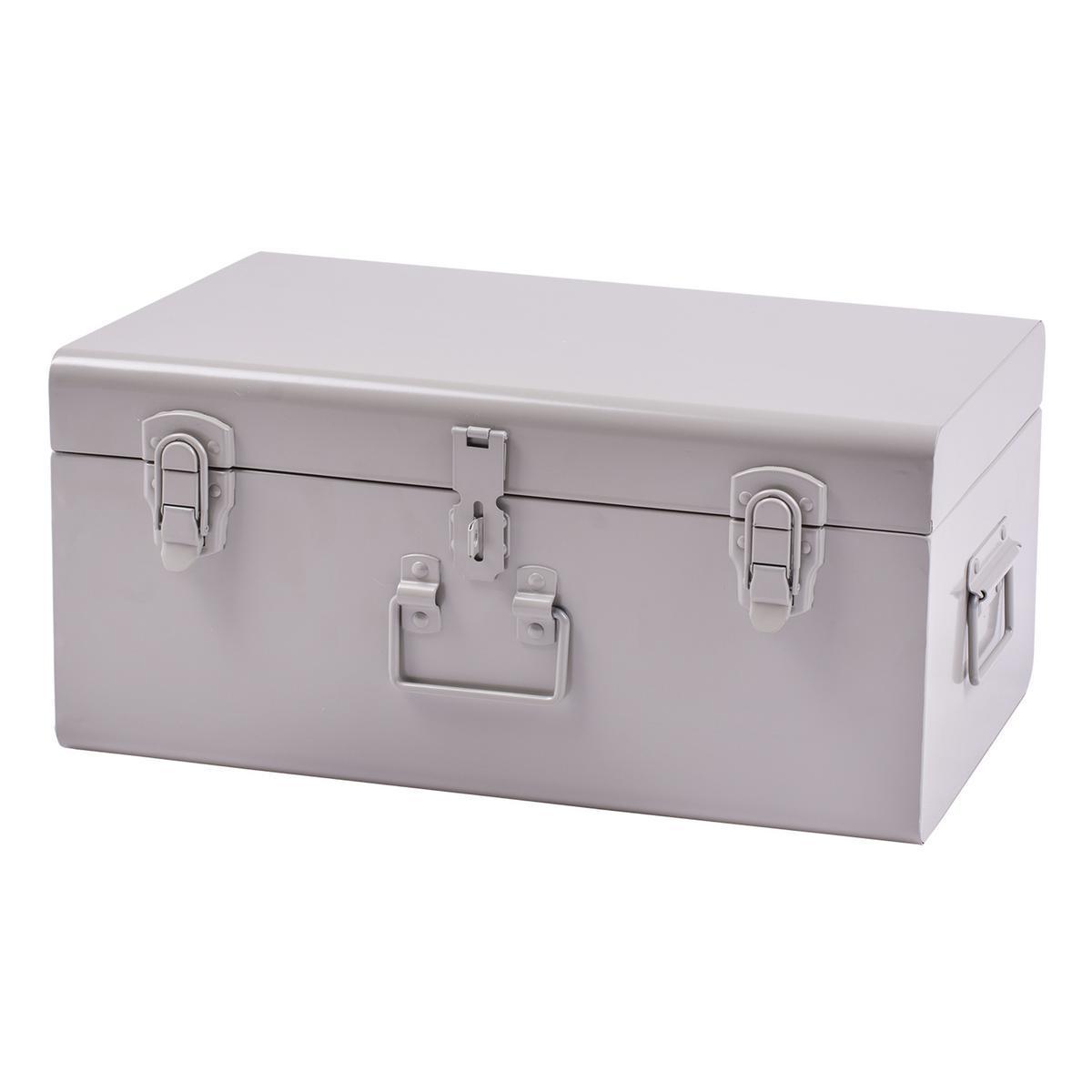 malle gris coffres et malles de