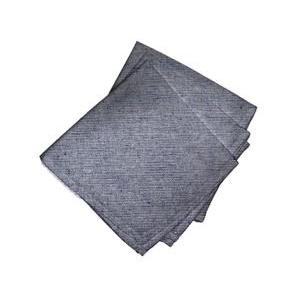 Lot de 3 serviettes Jeans marine