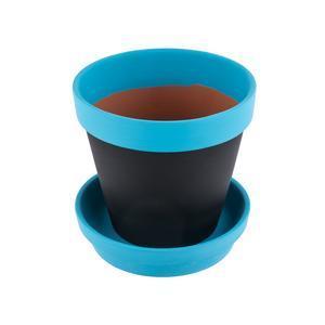 Pot à Fleurs Réinscriptible   Ø 15 X H 15 Cm