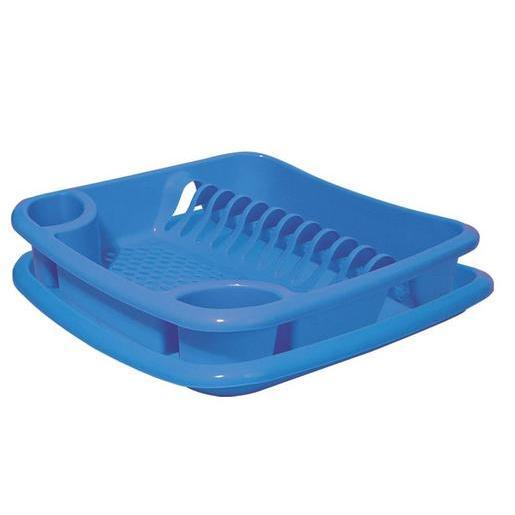 Egouttoir à vaisselle + plateau en plastique - Différents coloris ...