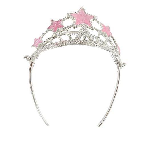 couronne de princesse en plastique 22 x 175 x 5 cm gris - Couronne Princesse Adulte