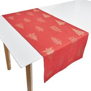 Chemin de table - 45 x 140 cm - Rouge