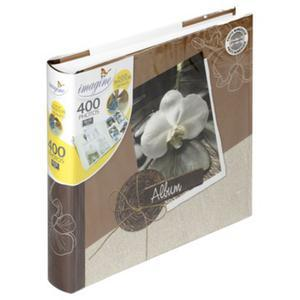 Album photo Flora - 30 x 30 cm - 100 pages - 400 photos -Couverture carton - Feuillets papier - Multicolore