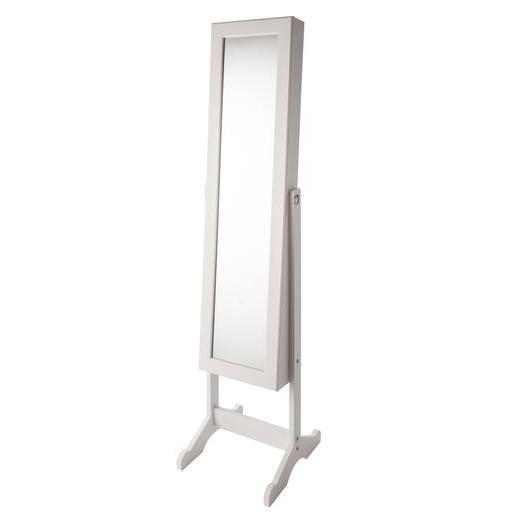 Miroir psyché range-bijoux - 36,5 x 34 x H 145 cm - Miroirs | La ...