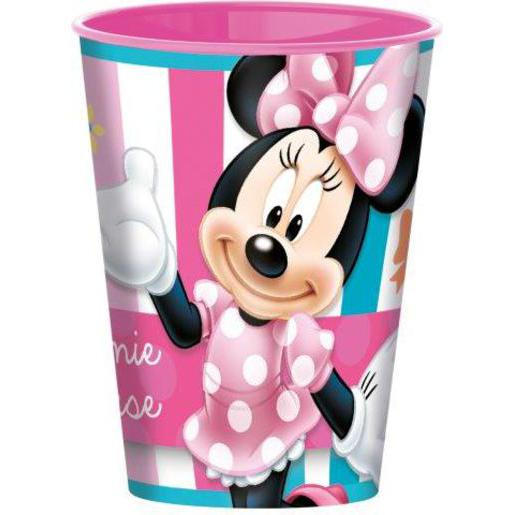 Gobelet Minnie - Plastique -260 ml - Multicolore