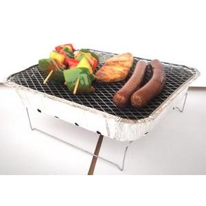 Barbecue jetable en aluminium