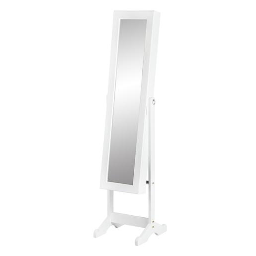 Miroir Psychè Range Bijoux   MDF Et Verre   34 X 37 X H 145