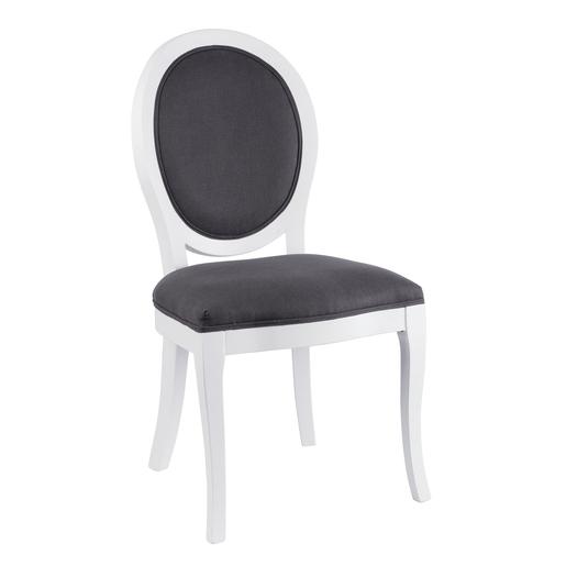 Chaise Blanc Gris - Meubles de salon | La Foir\'Fouille