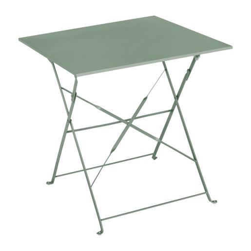 Table Diana Carree Vert Gris Mobilier De Jardin La Foir Fouille