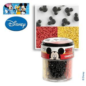 Décorations alimentaires Mickey - Sucre - 88 g - Multicolore