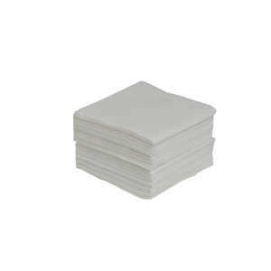 Lot de 40 serviettes Sof Touch Gappy - 25 x 25 cm - Pure Ouate de Cellulose - Blanc