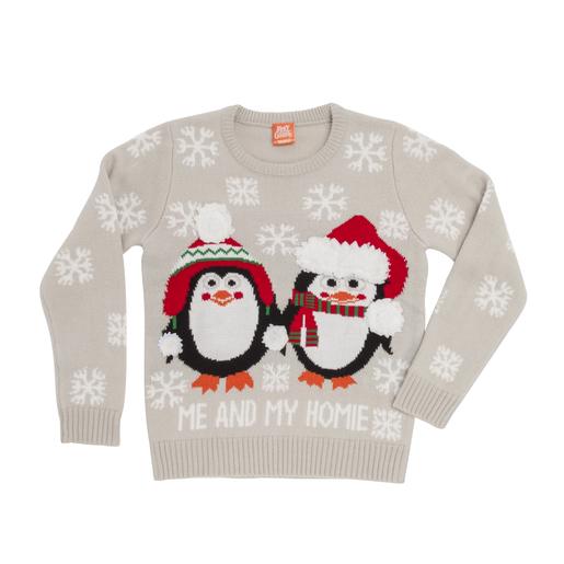 Pull De Noël Mixte Vêtements Adultes La Foirfouille
