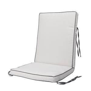 Coussin assise + dossier - Blanc