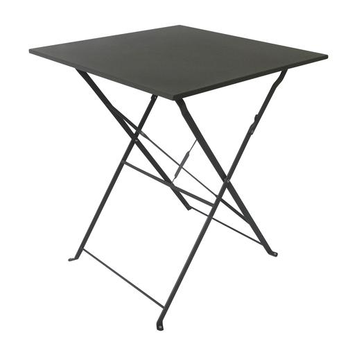 Table Diana Pliable 60 X 60 X H 71 Cm Gris Mobilier De Jardin La Foir Fouille