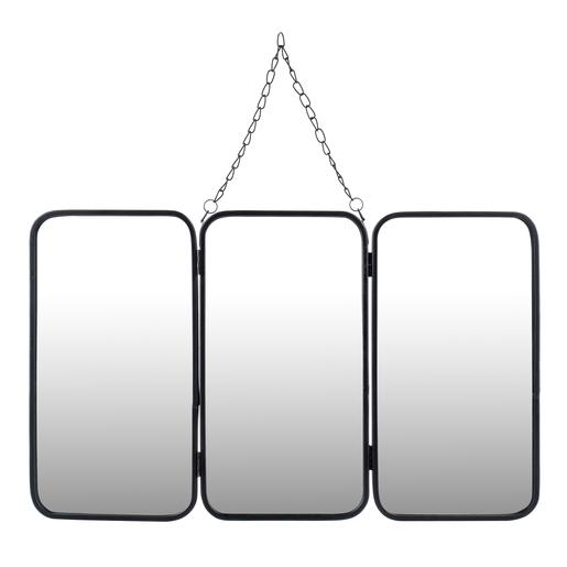 Miroir triptyque - H 30 cm - Miroirs | La Foir\'Fouille