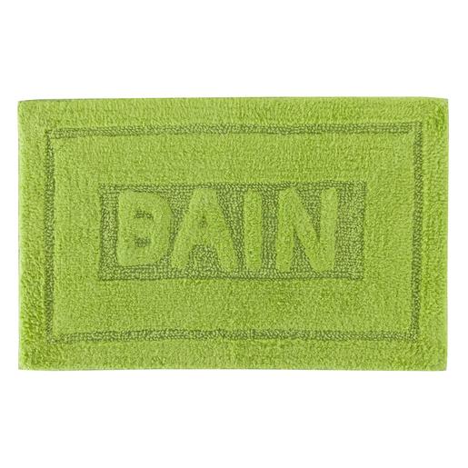 Tapis salle de bain - Coton - Noir - Blanc - Rose - Vert - Bleu ...