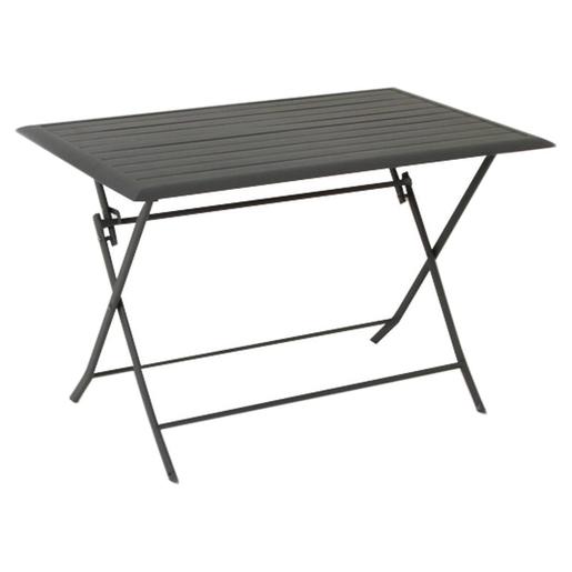 Table Azua Pliante 110 X 71 X H 71 Cm Gris Hesperide Tables De Jardin La Foir Fouille