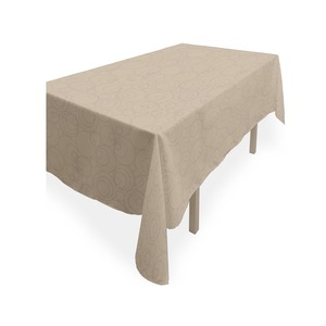 Nappe rectangulaire collection Espace - 140 x 240 cm - Taupe