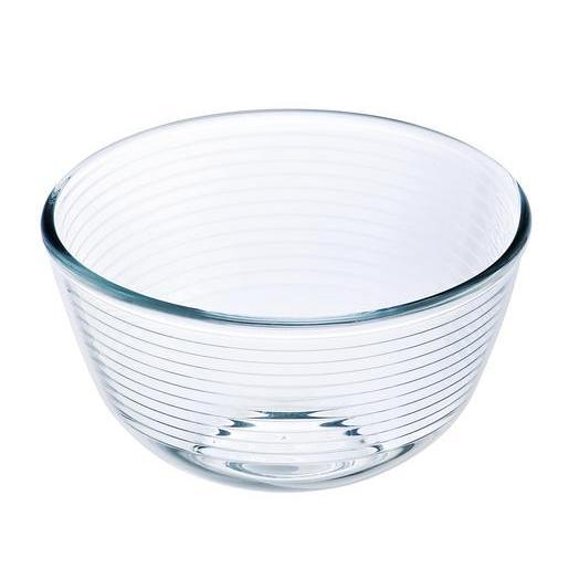 jatte en verre - blanc transparent - matériel de cuisine | la foir