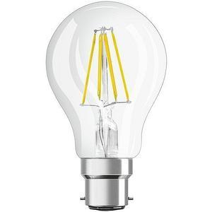 Ampoule à filaments LED A60 B22 7W