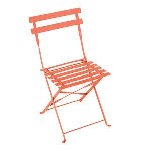 Chaise Diana - 41 x 46 x H 80 cm - Orange corail