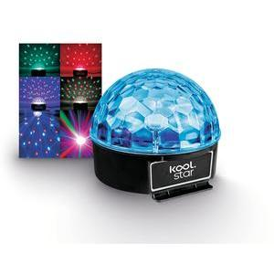 Boule disco multicolore 1 W