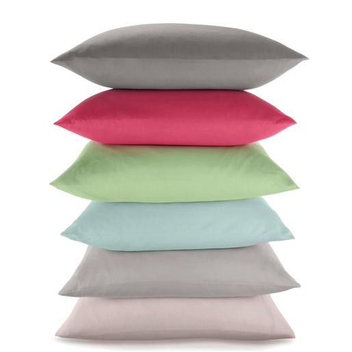 taie d'oreiller - polyester - coton - différents coloris - linge de