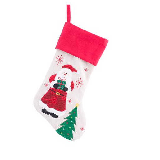 Chaussette De Noel A Suspendre Chaussette à suspendre Multicolore   Chaussette de Noël et