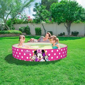 Piscine Minnie - PVC - 152 x H 25 cm - Multicolore