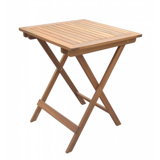 Table Pliante Hanoi 60 X 60 X H 74 Cm Moorea Mobilier De Jardin La Foir Fouille