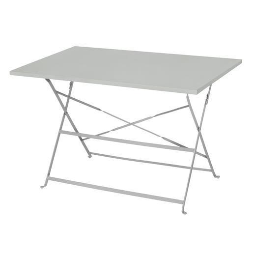 Table Diana Rect 4p Gris Mobilier De Jardin La Foir Fouille