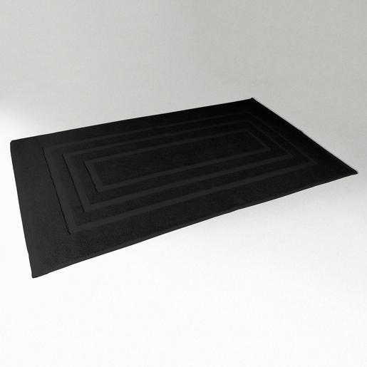 tapis de bain 50 x 85 cm noir tapis d co la foir. Black Bedroom Furniture Sets. Home Design Ideas