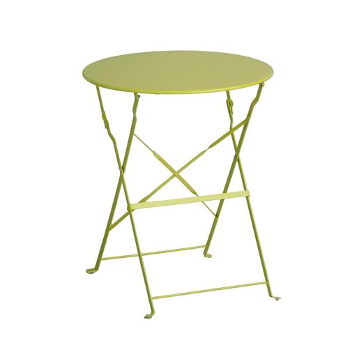 Table Diana ronde - Vert - Mobilier de jardin | La Foir\'Fouille
