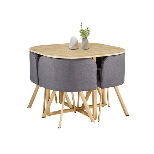 Ensemble Table Et 4 Fauteuils Meubles Pour La Cuisine La Foir