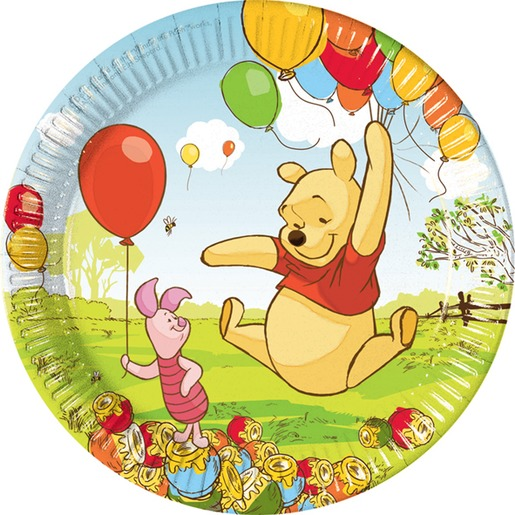 Vaisselle D Anniversaire Winnie Disney La Foir Fouille