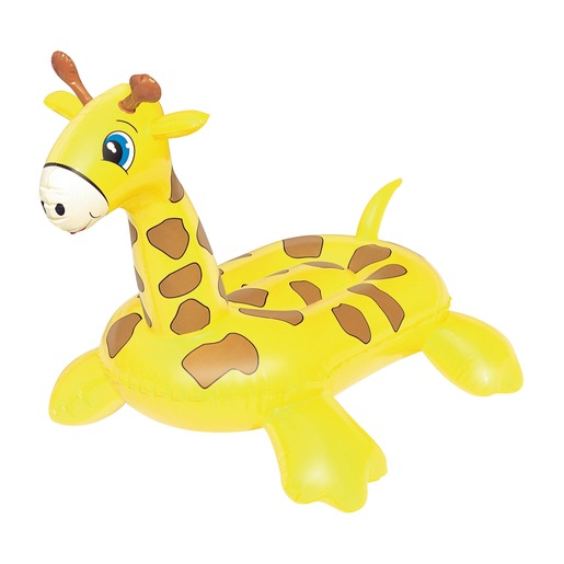 Girafe gonflable - 117 x 71 cm - Jaune