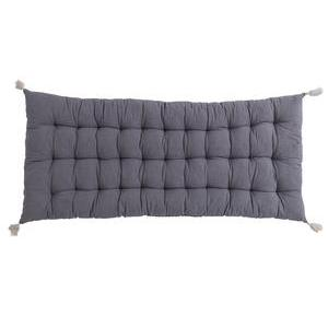 Coussin de sol long - Gris anthracite