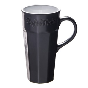 Mug collection Café Moka en grès - 31 cl - Gris anthracite
