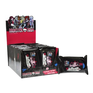 Lingettes Monster High - Noir