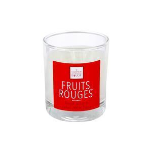Bougie parfumée fruits rouges Elea - 190 g
