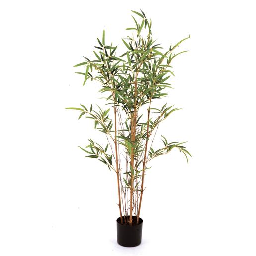 bambou en pot fleurs artificielles la foir 39 fouille. Black Bedroom Furniture Sets. Home Design Ideas