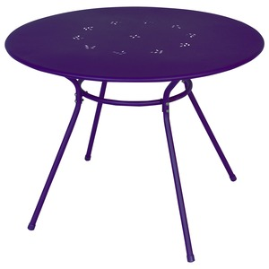 Table Anna - D 95 x H 71 cm - violet prune