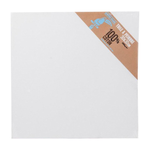 Toile à peindre - Coton - Blanc - Toile à peindre | La Foir\'Fouille
