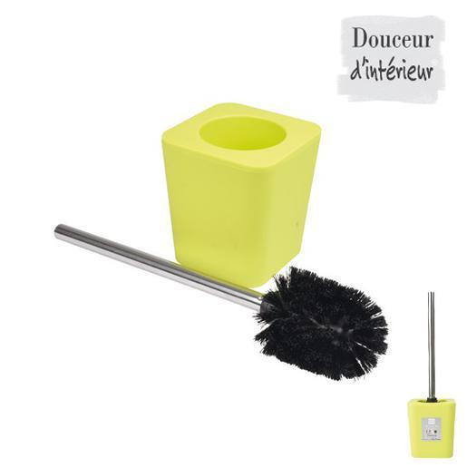 Brosse Wc Plastique Inox Vert Abattants Wc Et