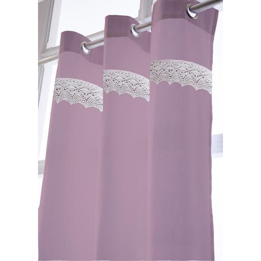 Rideau Violet - Rideaux et voilages | La Foir\'Fouille