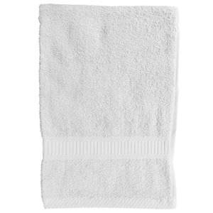 Serviette de toilette - 50 x 90 cm - Blanc chantilly