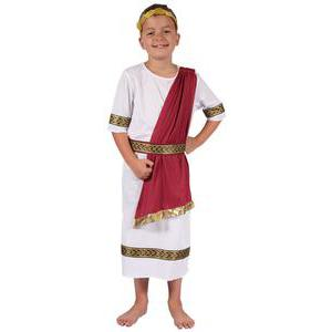 Costume enfant de Romain en polyester - S - Multicolore